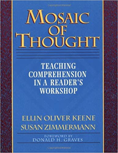 Mosaic of Thought: Teaching Comprehension in a Reader's Workshop book cover.