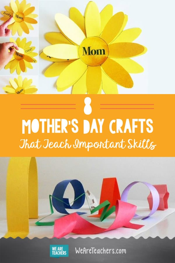 8 Mother's Day Crafts That Teach Important Skills, Too