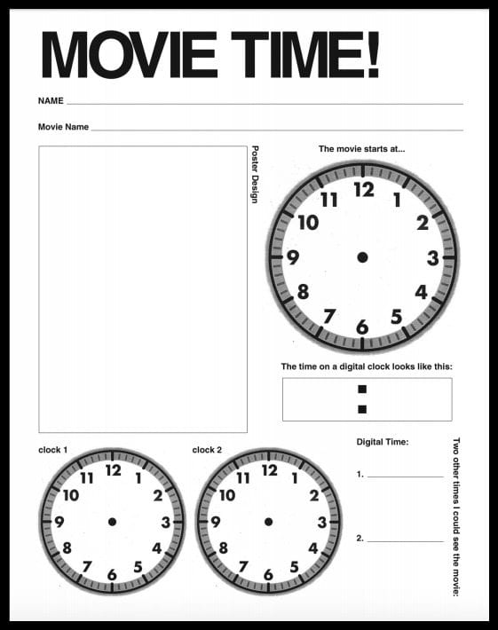 graphic about Telling Time Printable Game identify 5 Palms-Upon Techniques towards Educate Telling Period - WeAreTeachers