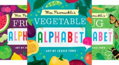 Peanuckle Alphabet Books