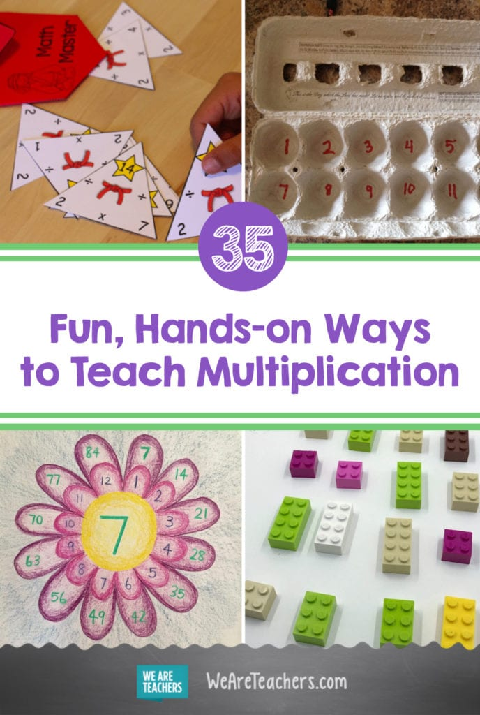 35 Fun, Hands-on Ways to Teach Multiplication