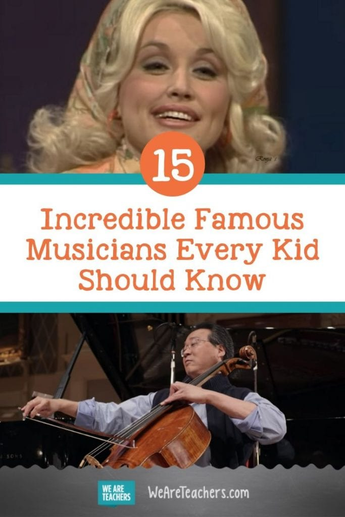 15 Incredible Famous Musicians Every Kid Should Know