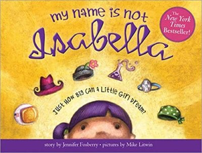 Books about names for kids