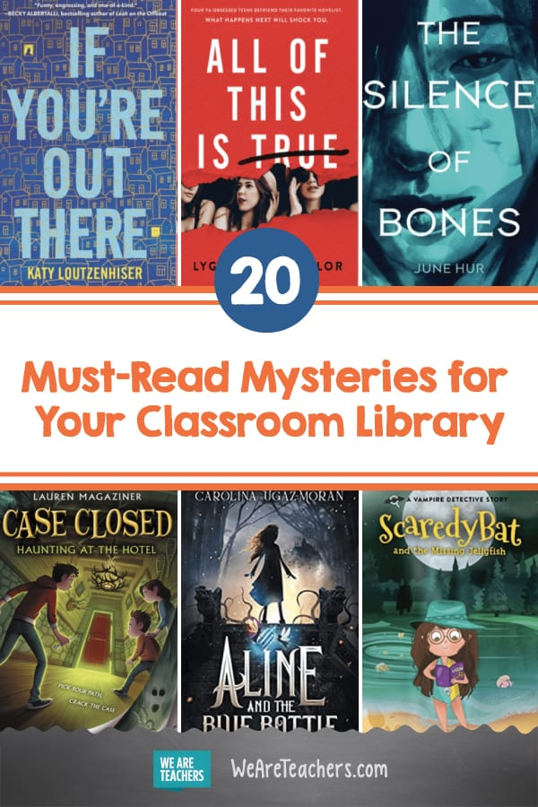 20 Must-Read Mysteries for Your Classroom Library