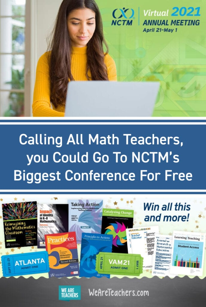 Calling All Math Teachers, You Could Go To NCTM's Biggest Conference For Free