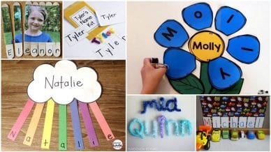 Name Crafts and Activities