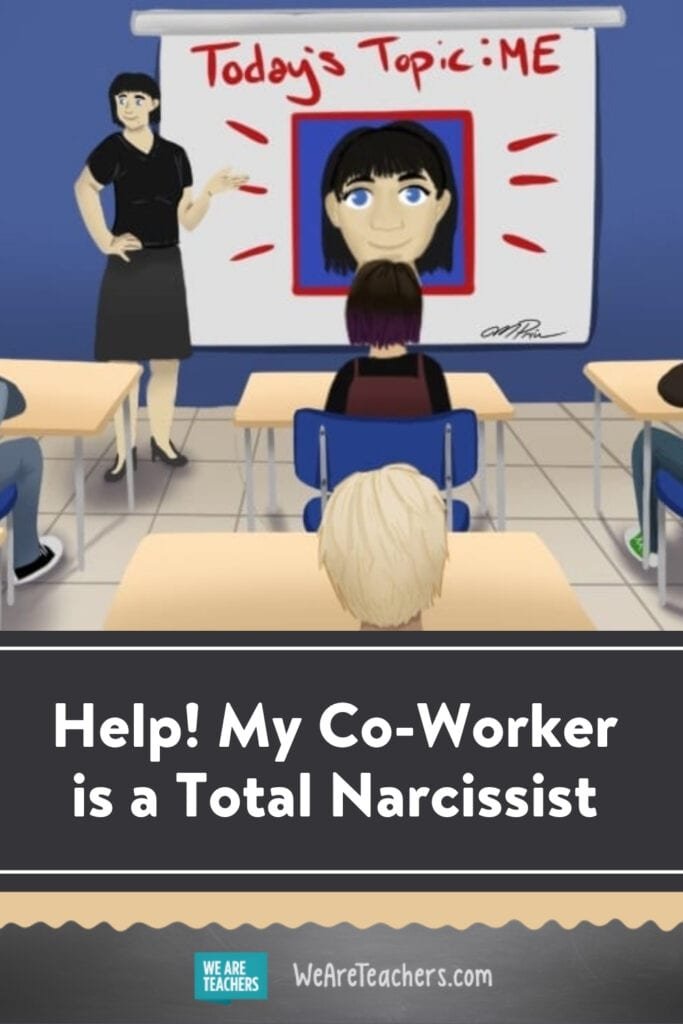 Help! My Co-Worker is a Total Narcissist
