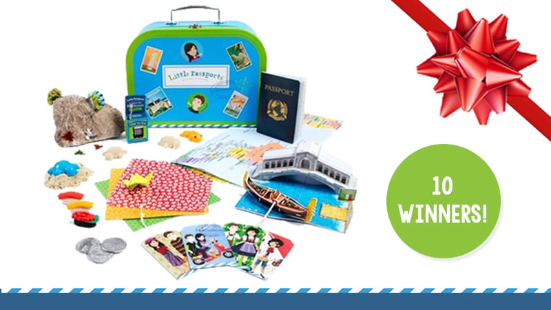 Little Passports Teacher Giveaway Image of Prize