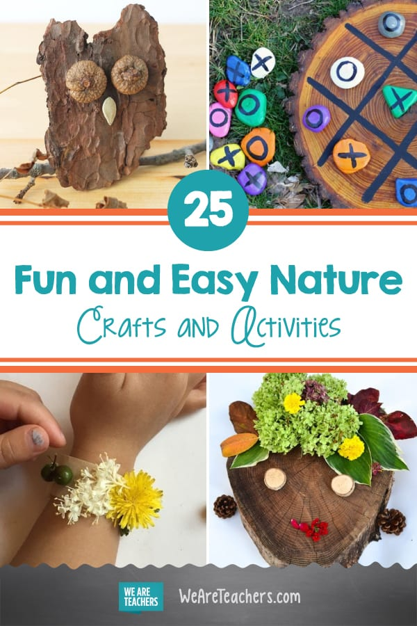25 Fun and Easy Nature Crafts and Activities