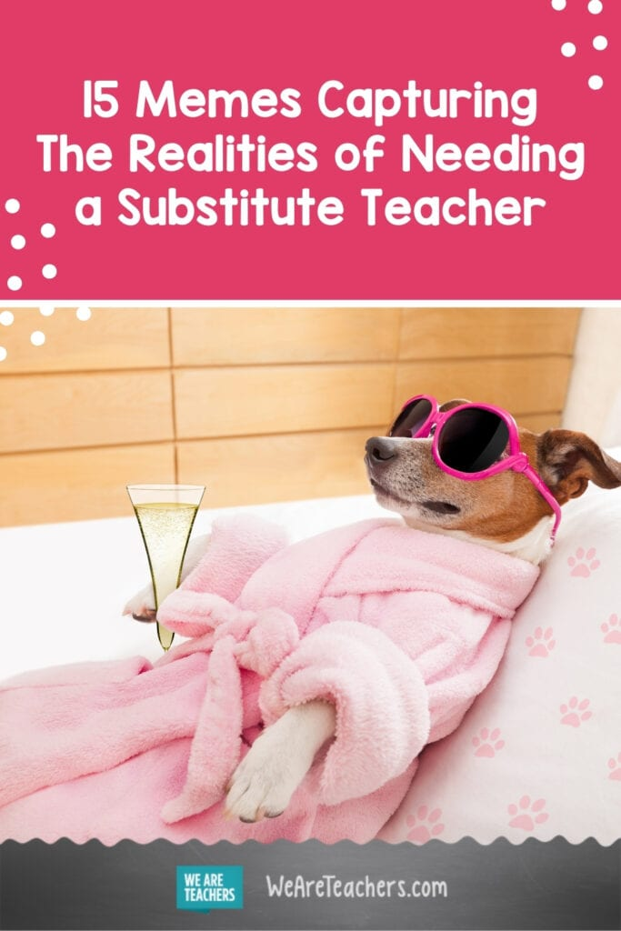 15 Memes Capturing The Realities of Needing a Substitute Teacher