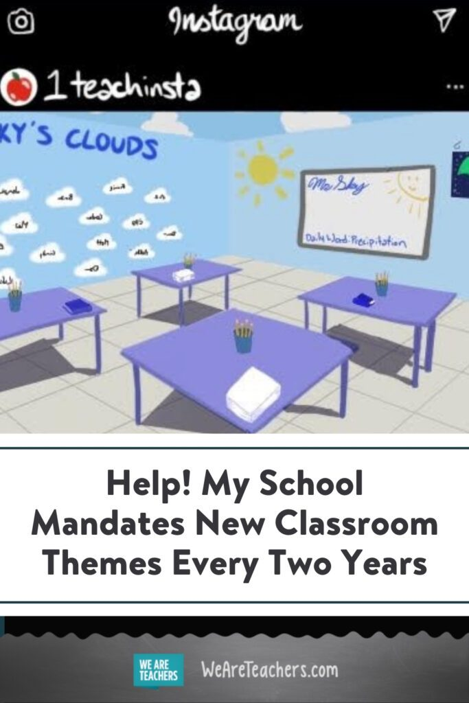 Help! My School Mandates New Classroom Themes Every Two Years