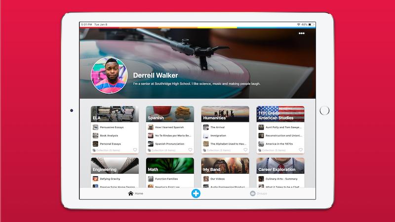 New Digital Portfolio App