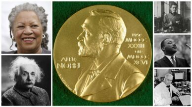 Collage of Nobel Prize Winners kids should know