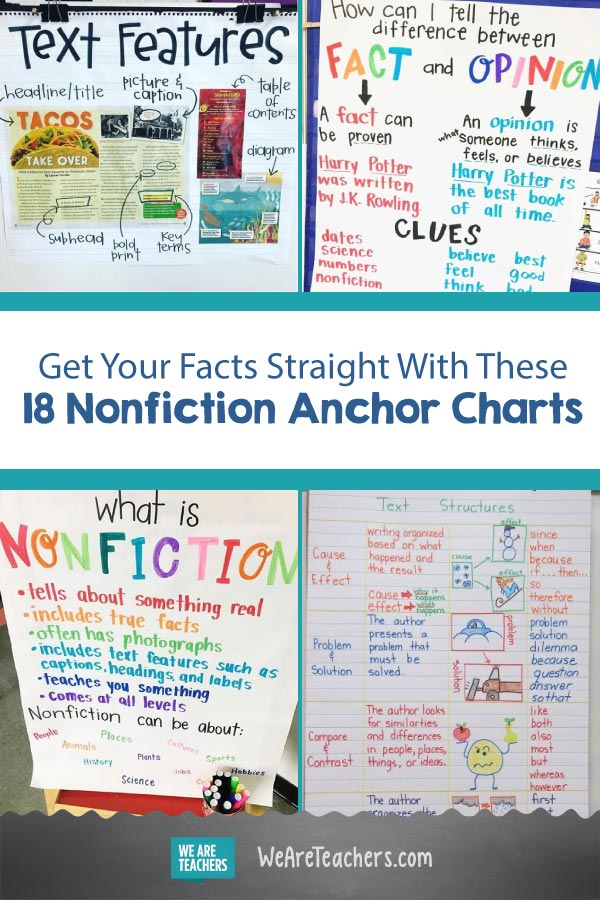 Get Your Facts Straight With These 18 Nonfiction Anchor Charts