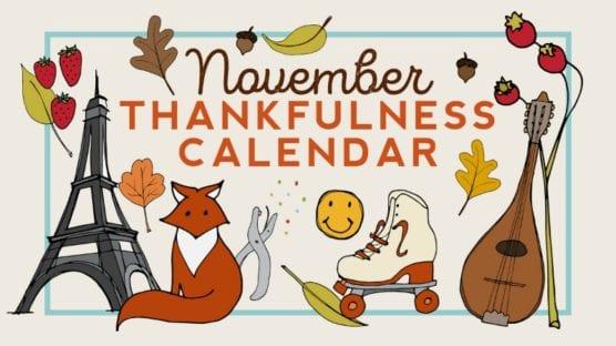 Printable November Calendar