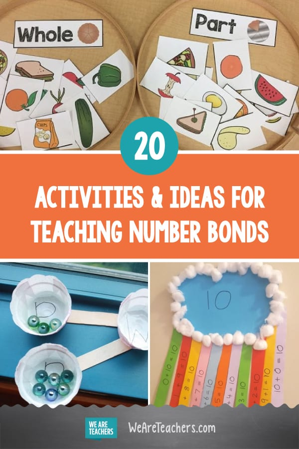 20 Terrific Activities and Ideas for Teaching Number Bonds
