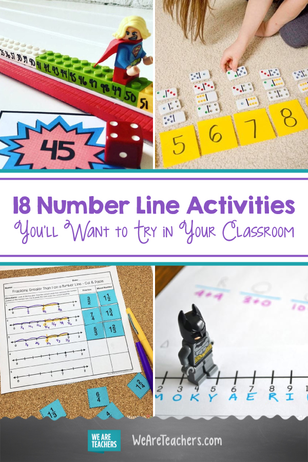 18 Number Line Activities You'll Want to Try in Your Classroom