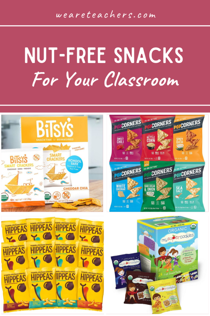 The Best Shelf-Stable Nut-Free Snacks For Your Classroom Snack Stash