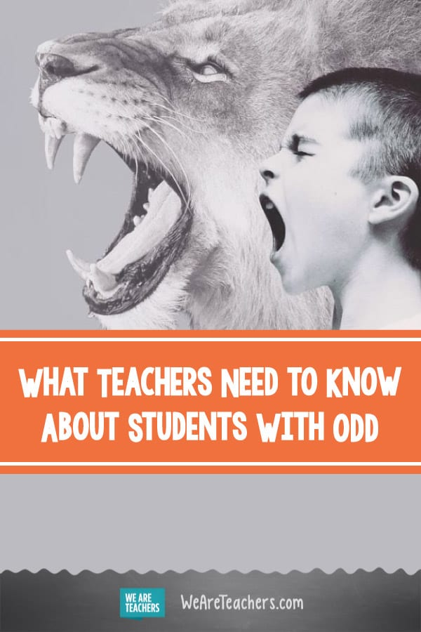 What Teachers Need to Know About Students With ODD (Oppositional Defiant Disorder)