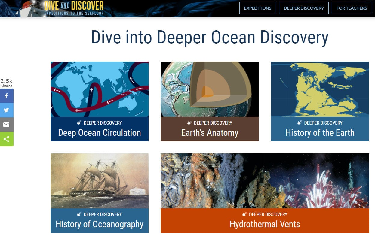Ocean Activities Dive and Discover