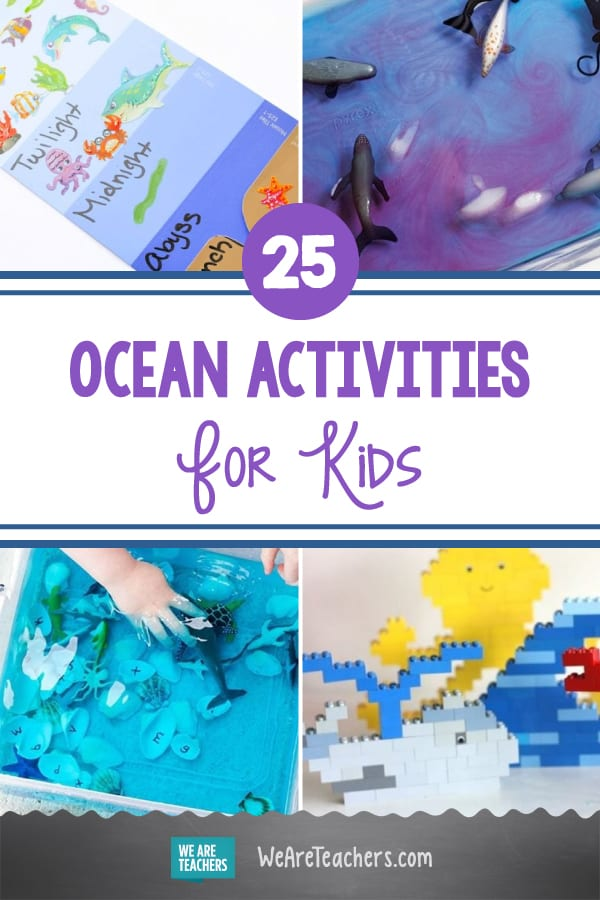 25 Ocean Activities, Experiments, and Crafts For Kids To Dive Into