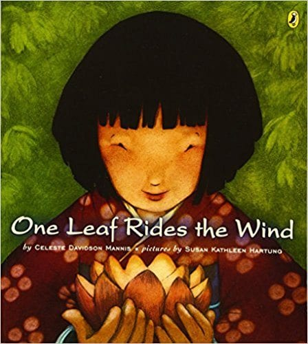 Book cover for One Leaf Rides the Wind