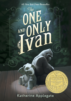 The One and Only Ivan Book Cover - teach empathy