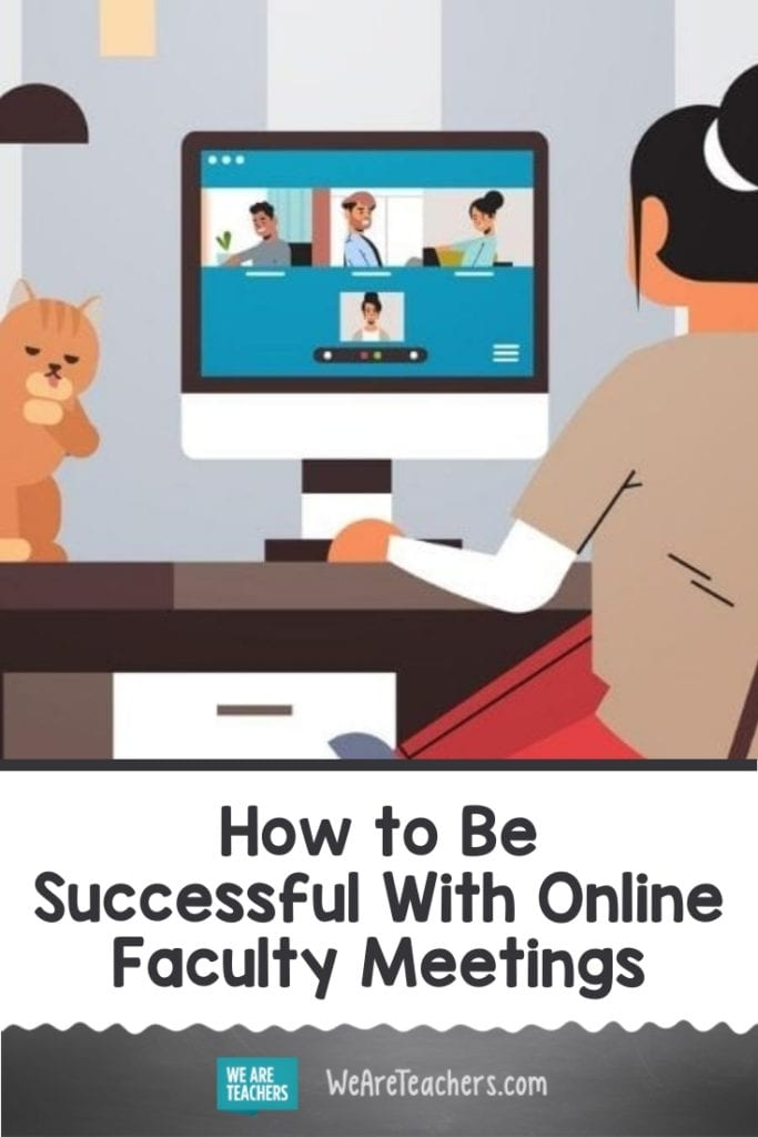 How to Be Successful With Online Faculty Meetings