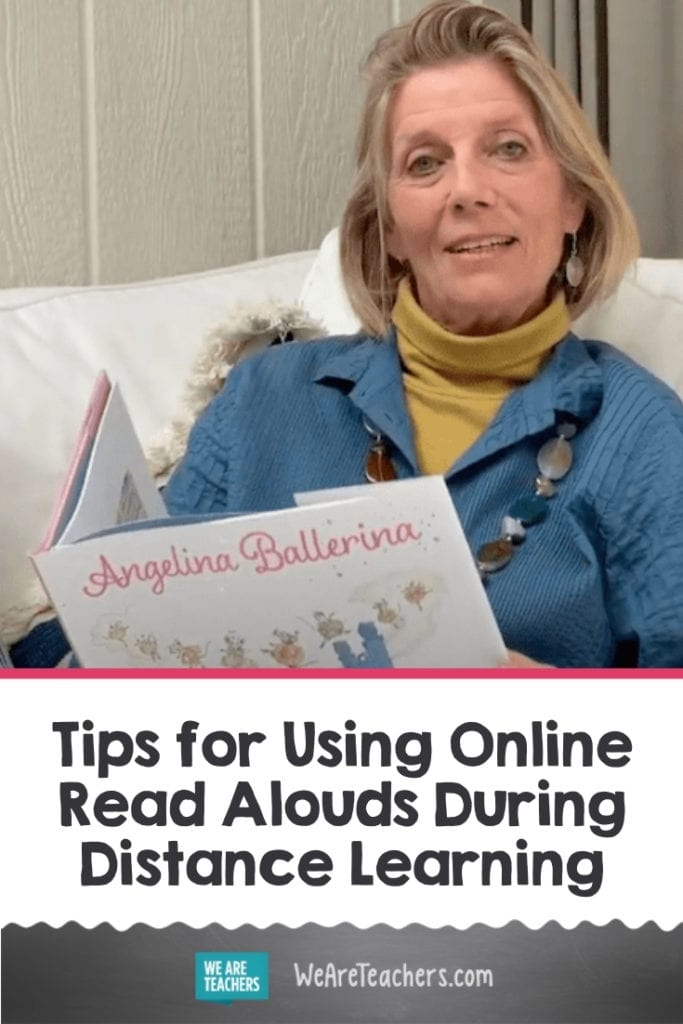 Tips for Using Online Read Alouds During Distance Learning