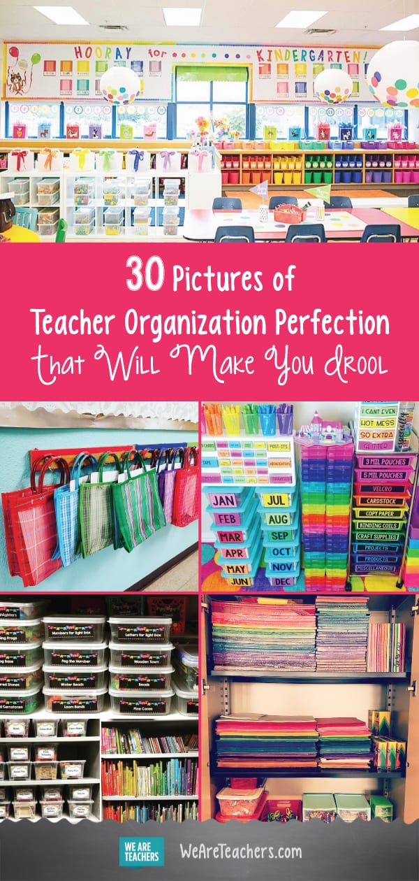30 Pictures of Teacher Organization Perfection that Will Make You Drool