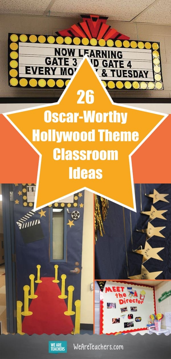 26 Oscar-Worthy Hollywood Theme Classroom Ideas