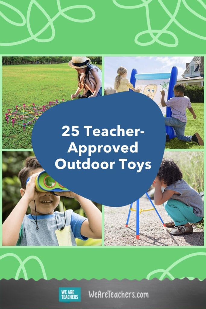 25 Teacher-Approved Outdoor Educational Toys