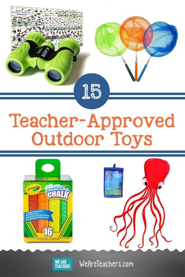 15 Teacher-Approved Outdoor Toys to Get Kids Learning & Moving