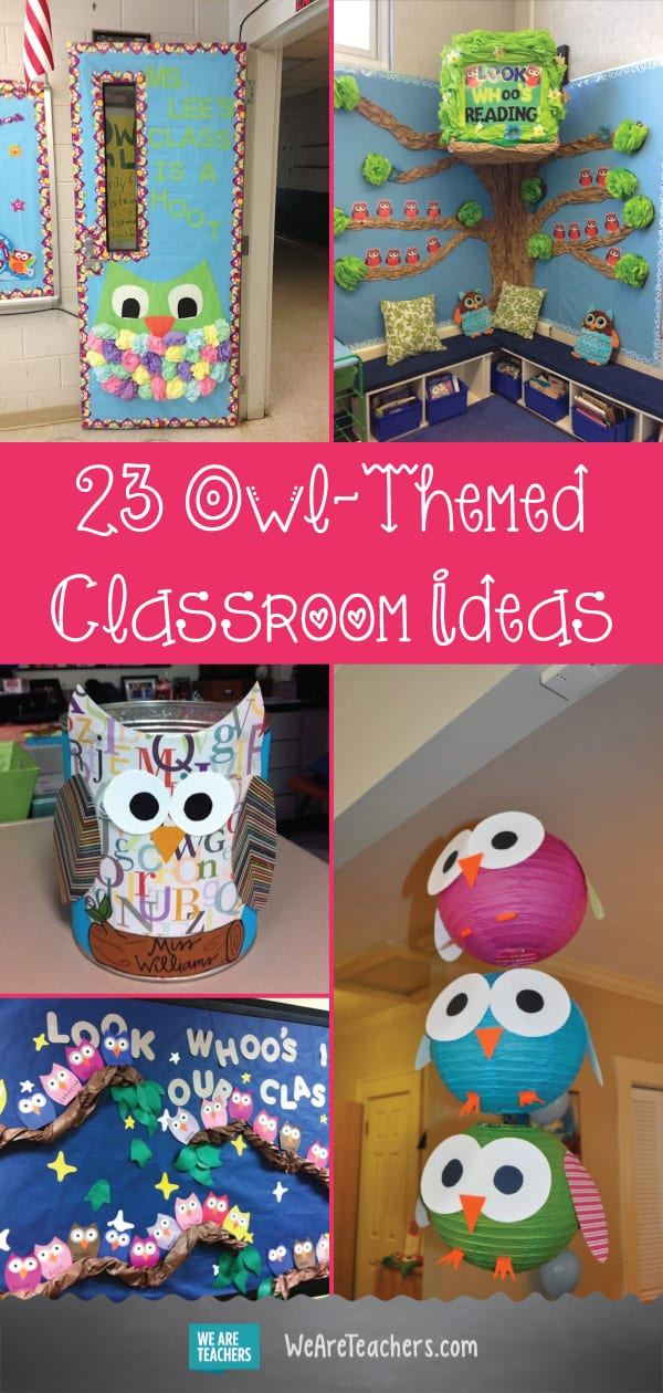 Owl Themed Classroom Ideas Classroom Bulletin Boards And Decor