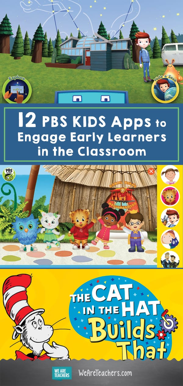 12 PBS KIDS Apps to Engage Early Learners in the Classroom