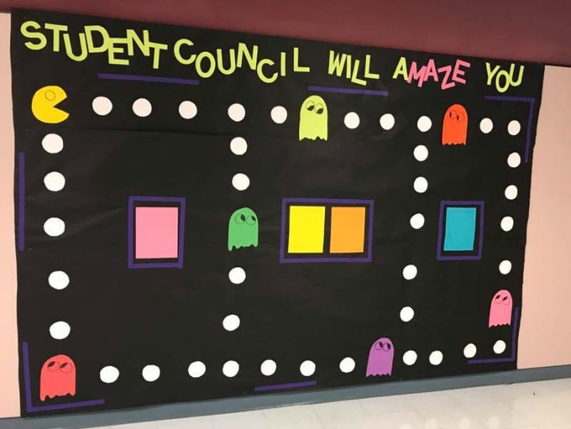 Student Council Will Amaze You - Back-to-School Bulletin Board Ideas