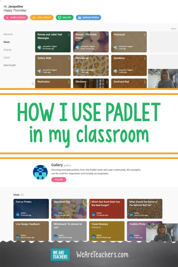 Teachers Grade Everything: Padlet, an Online Bulletin Board Tool