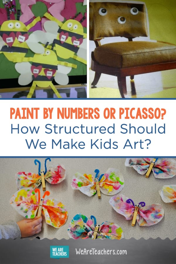 Paint by Numbers or Picasso? How Structured Should We Make Kids Art?