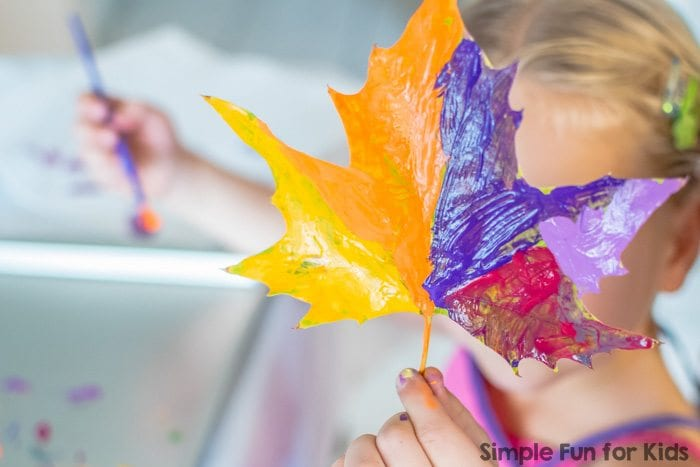 Painted Nature - Kindergarten Science Activities