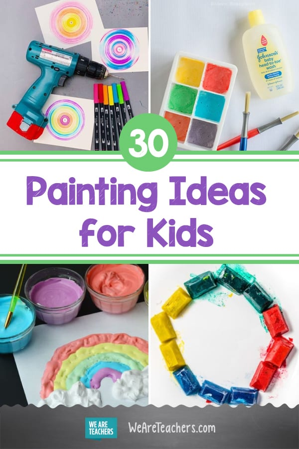 Paint Pouring, Spin Art, and Other Unique Painting Ideas for Kids