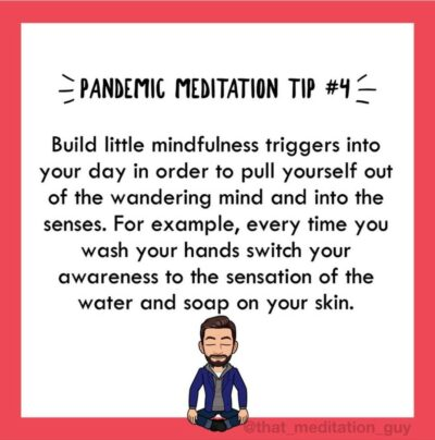Build mindfulness triggers into your day