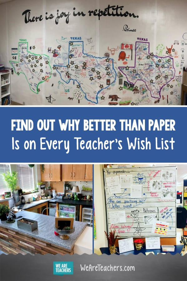 Find out Why Better Than Paper Is on Every Teacher's Wish List