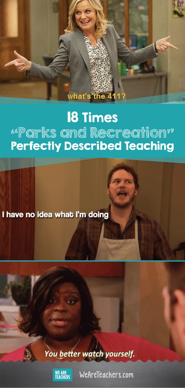 "18 Times ""Parks and Recreation"" Perfectly Described Teaching"