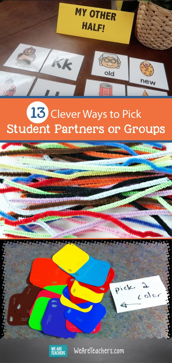 13 Clever Ways to Pick Student Partners or Groups
