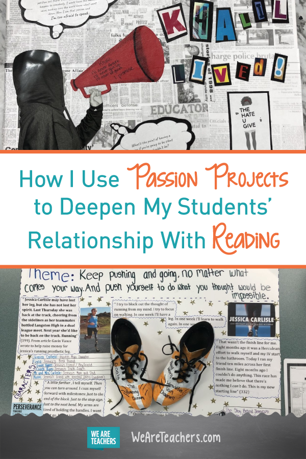 How I Use Passion Projects to Deepen My Students' Relationship With Reading