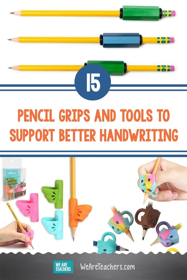 15 Pencil Grips and Tools to Support Better Handwriting