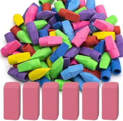 Pencil Top Erasers