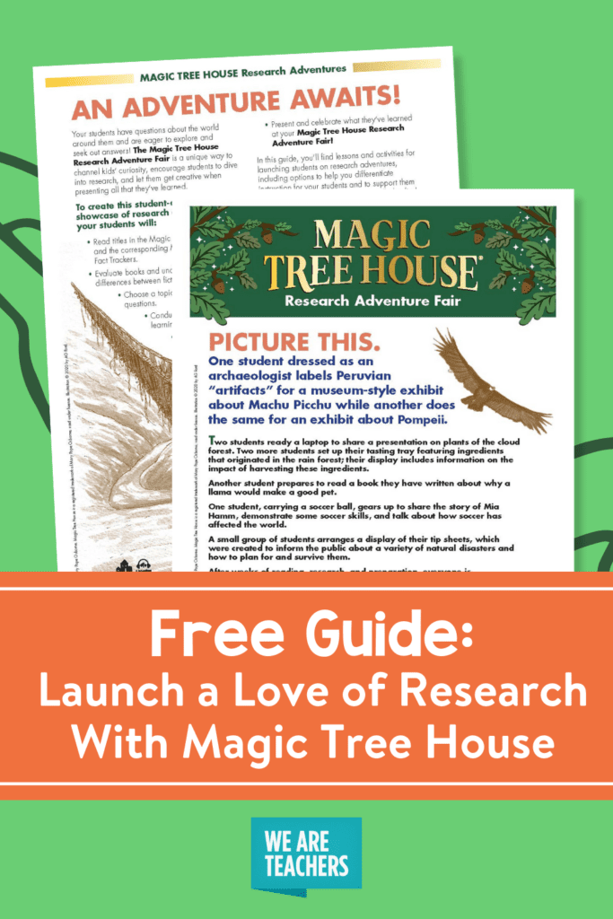 Free Guide: Launch a Love of Research With Magic Tree House
