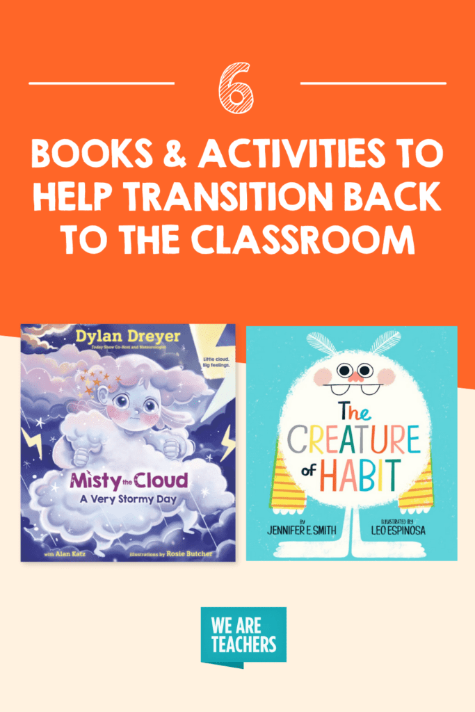 6 Back To School Books & Activities To Help Transition Back To The Classroom