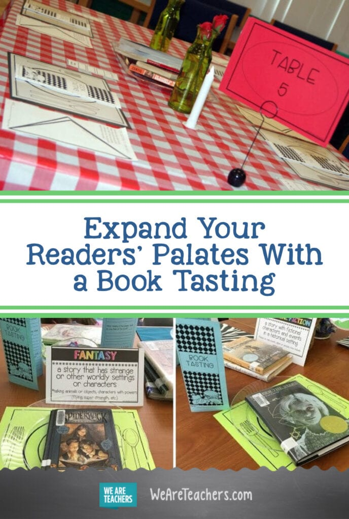 Expand Your Readers' Palates With a Book Tasting